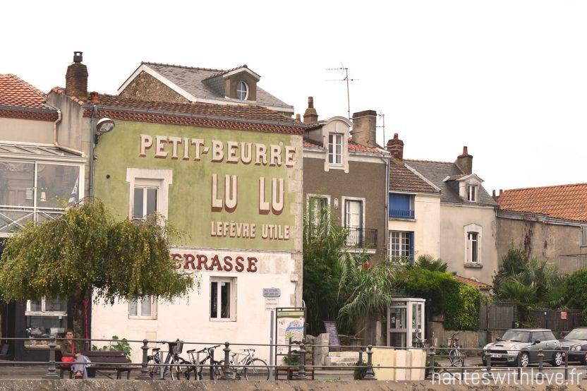 Trentemoult, sur l'autre rive de la Loire