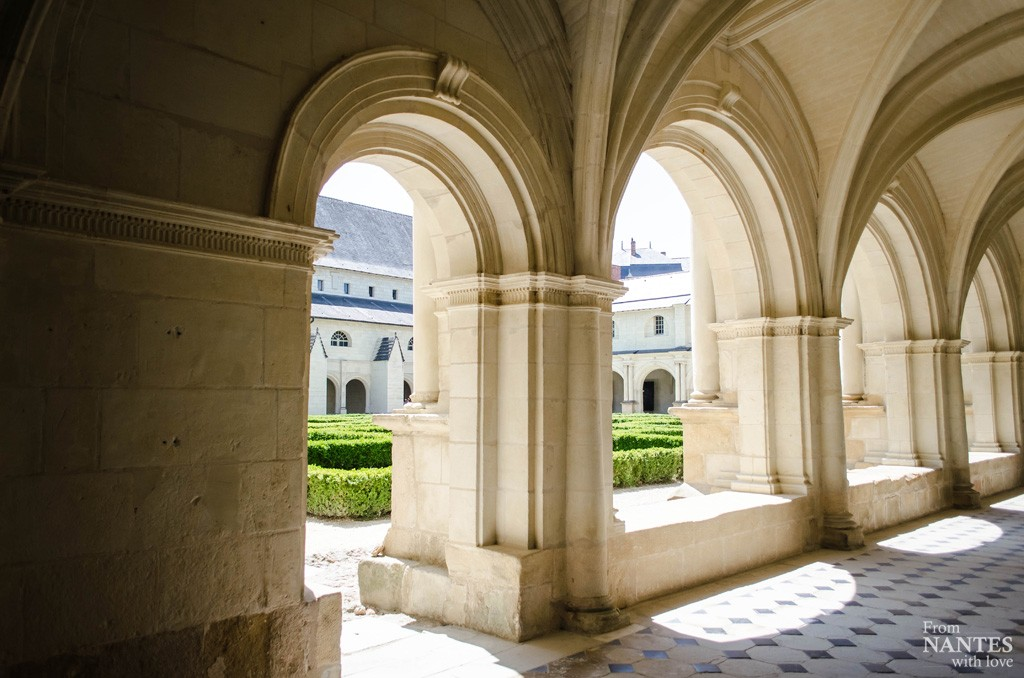 Abbaye de Fontevraud - Cloitre du grand moutier