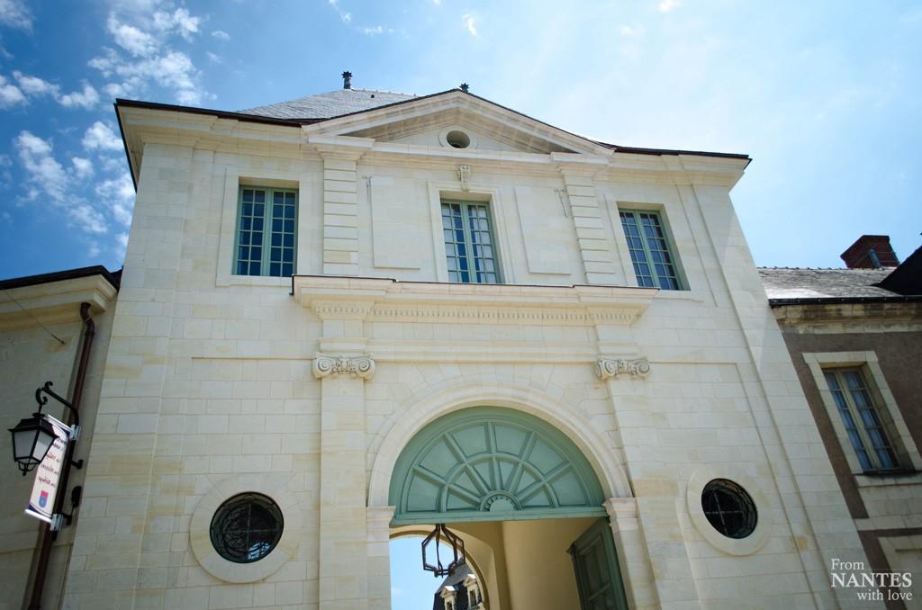 Abbaye royale de Fontevraud - Entrée monumentale