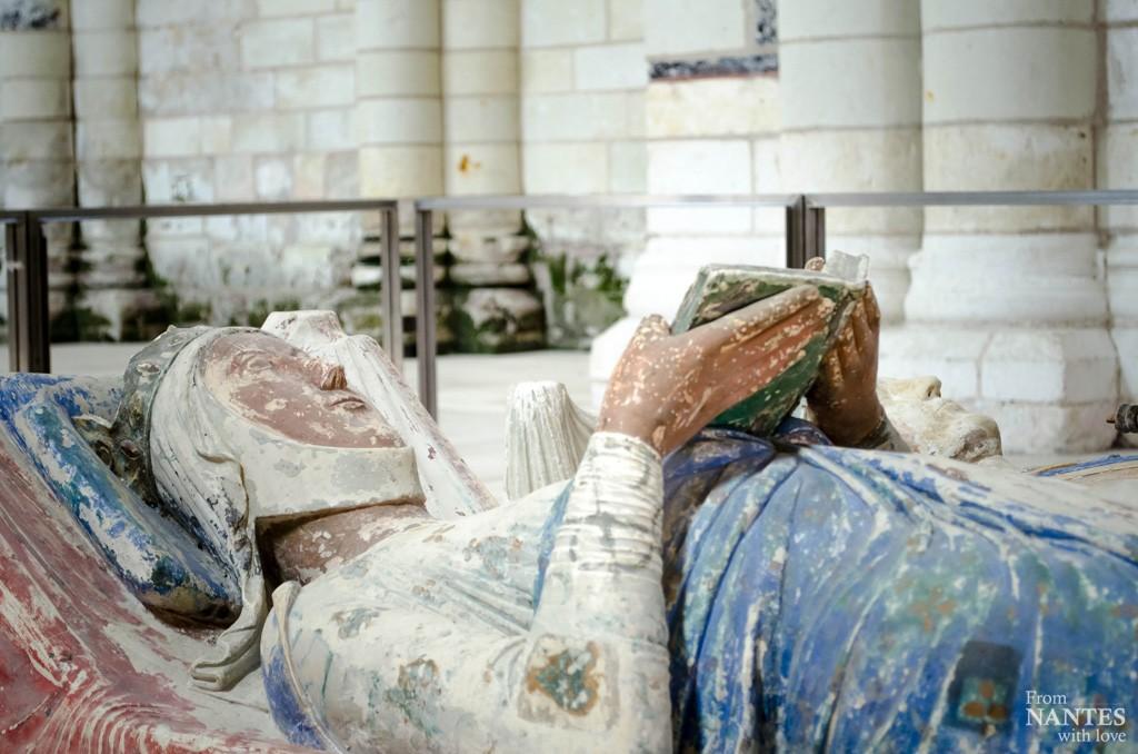 Abbaye royale de Fontevraud - Gisant Aliénor d'Aquitaine