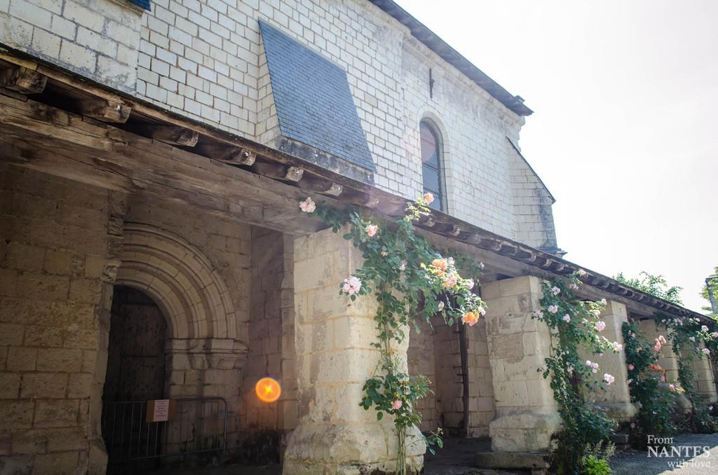 Fontevraud l'abbaye Eglise Saint Michel