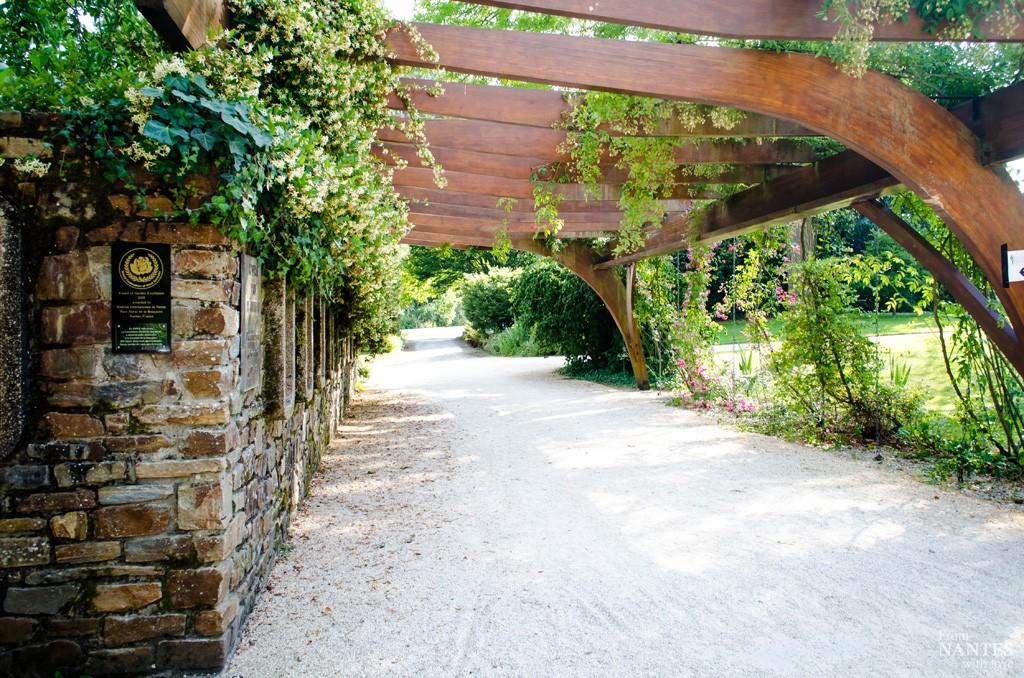 Parc de la Roseraie - Parc Floral de la Beaujoire Nantes