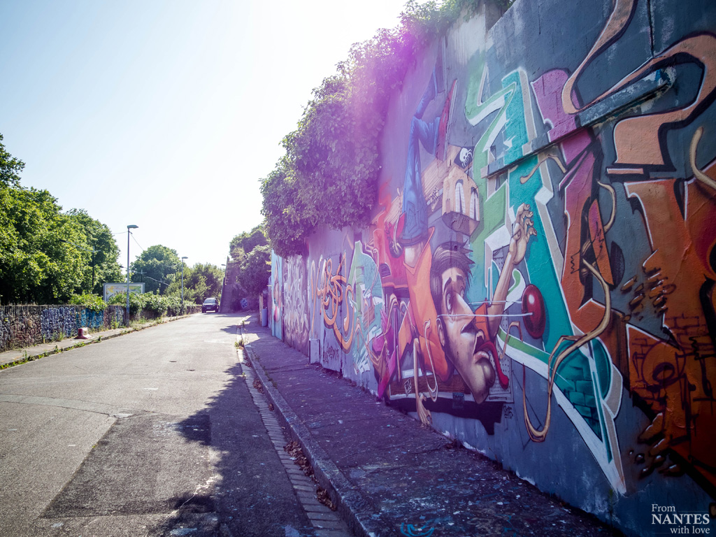 Mur de grafs - Quartier Chantenay / Saint-Anne Nantes