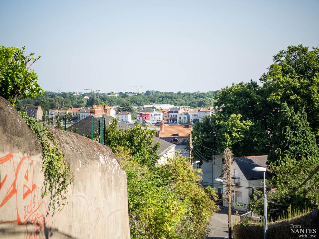 Trentemoult vu depuis le Quartier Chantenay / Saint-Anne Nantes