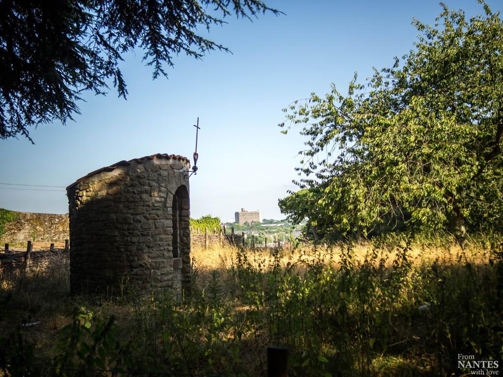La Maison Radieuse, vue depuis le Parc des Oblates & vieu puit -Quartier Chantenay / Saint-Anne Nantes