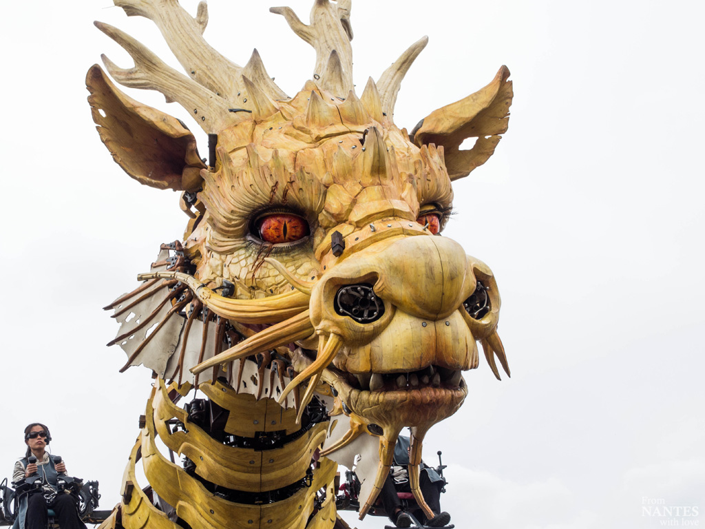 Long Ma - Cheval Dragon - Voyage à Nantes