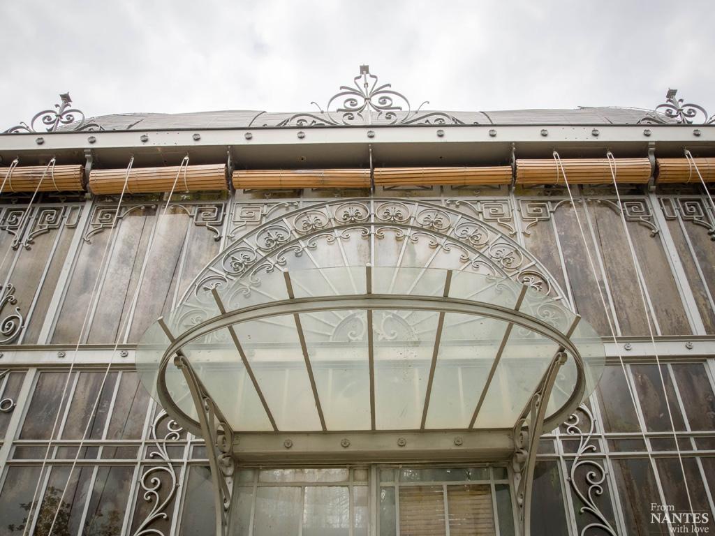 Visite Serres Jardin des Plantes Nantes
