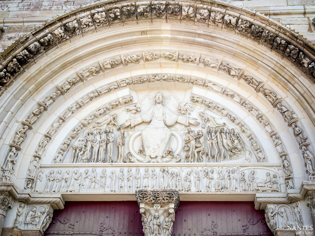 Vezelay-Yonne-Bourgogne - Basilique Sainte-Marie-Madeleine