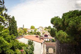 En balade à Clisson, la belle italienne du vignoble nantais