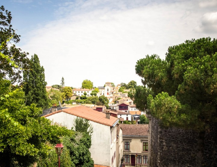 Clisson, belle italienne du vignoble - Loire-Atlantique