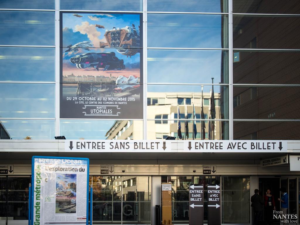 Utopiales de Nantes 2015