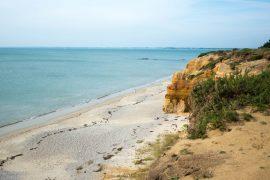 Balade d'automne à la mer, à Penestin