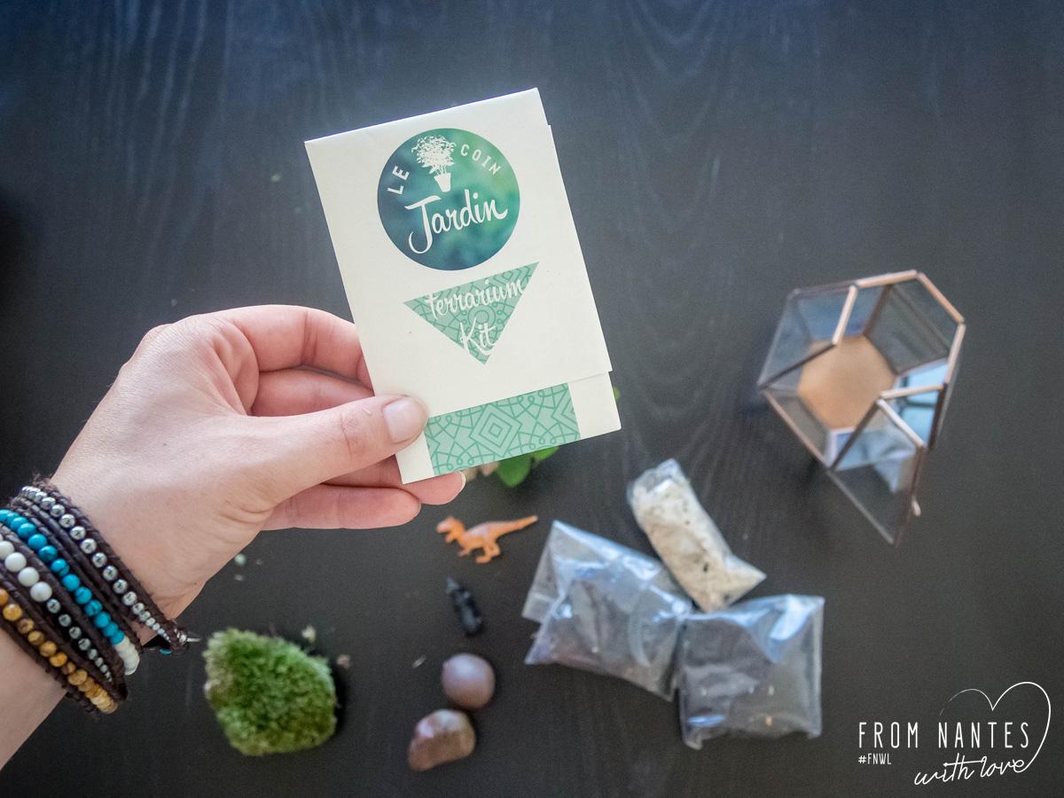 DIY Terrarium avec le kit Le Coin Jardin