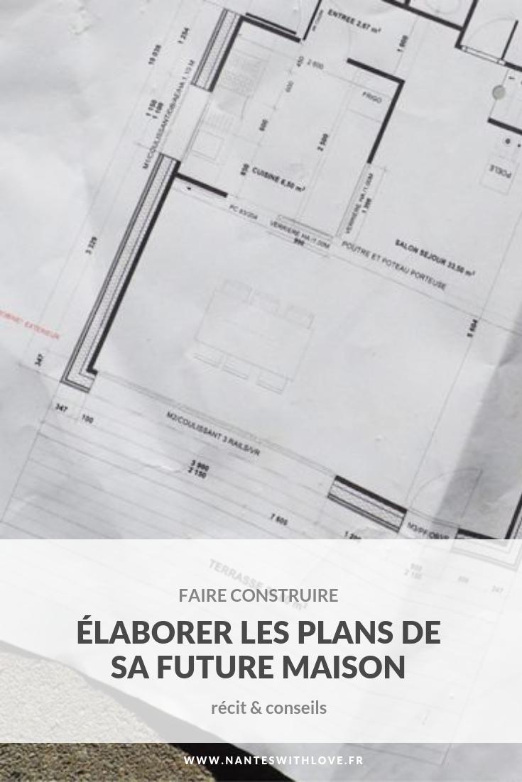 faire construire - Elaborer les plans de sa future maison