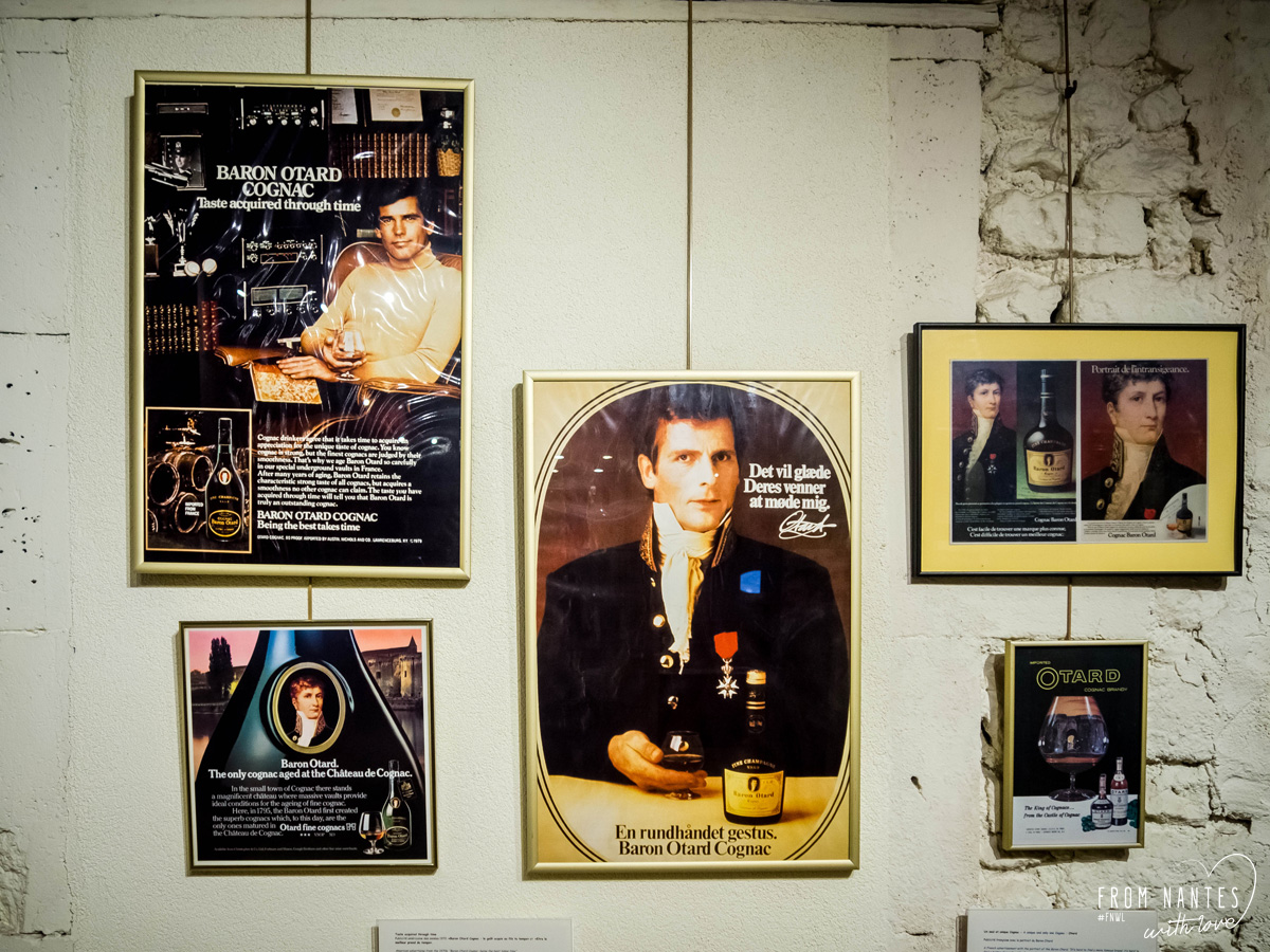 Visite de la distillerie de cognac Baron Otard