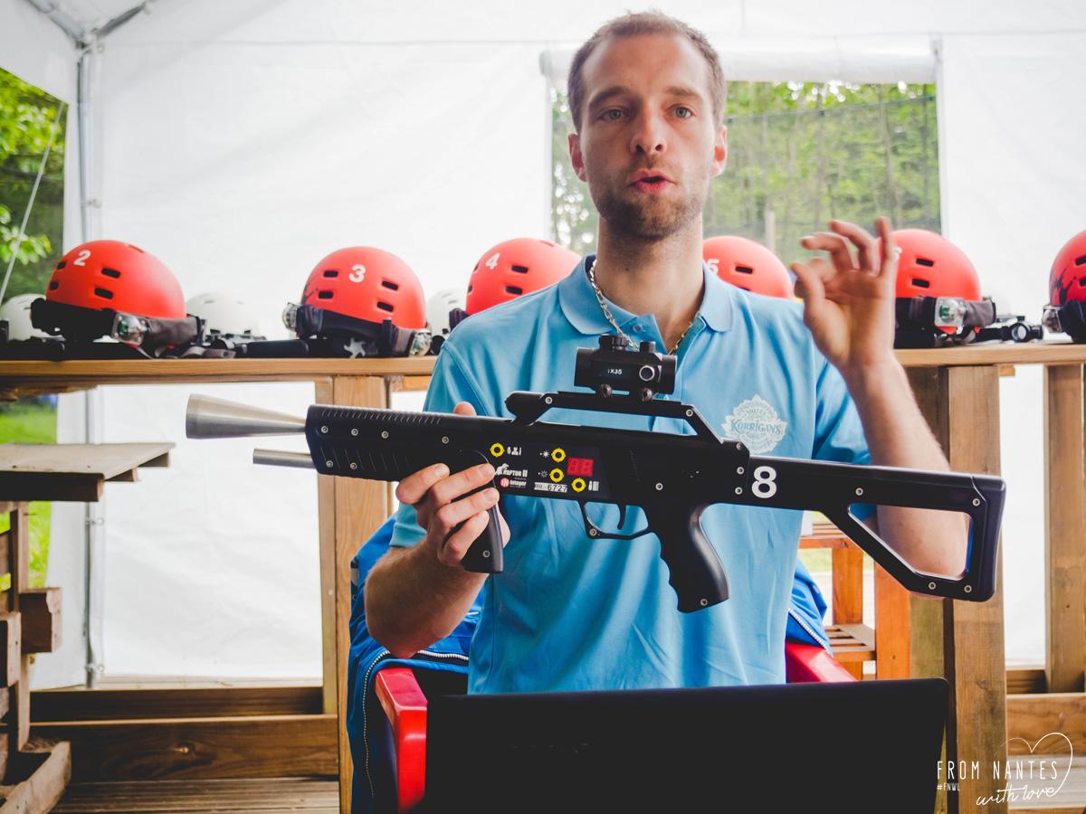 Vallée des Korrigans Laser Tag Accrocbranche à Savenay