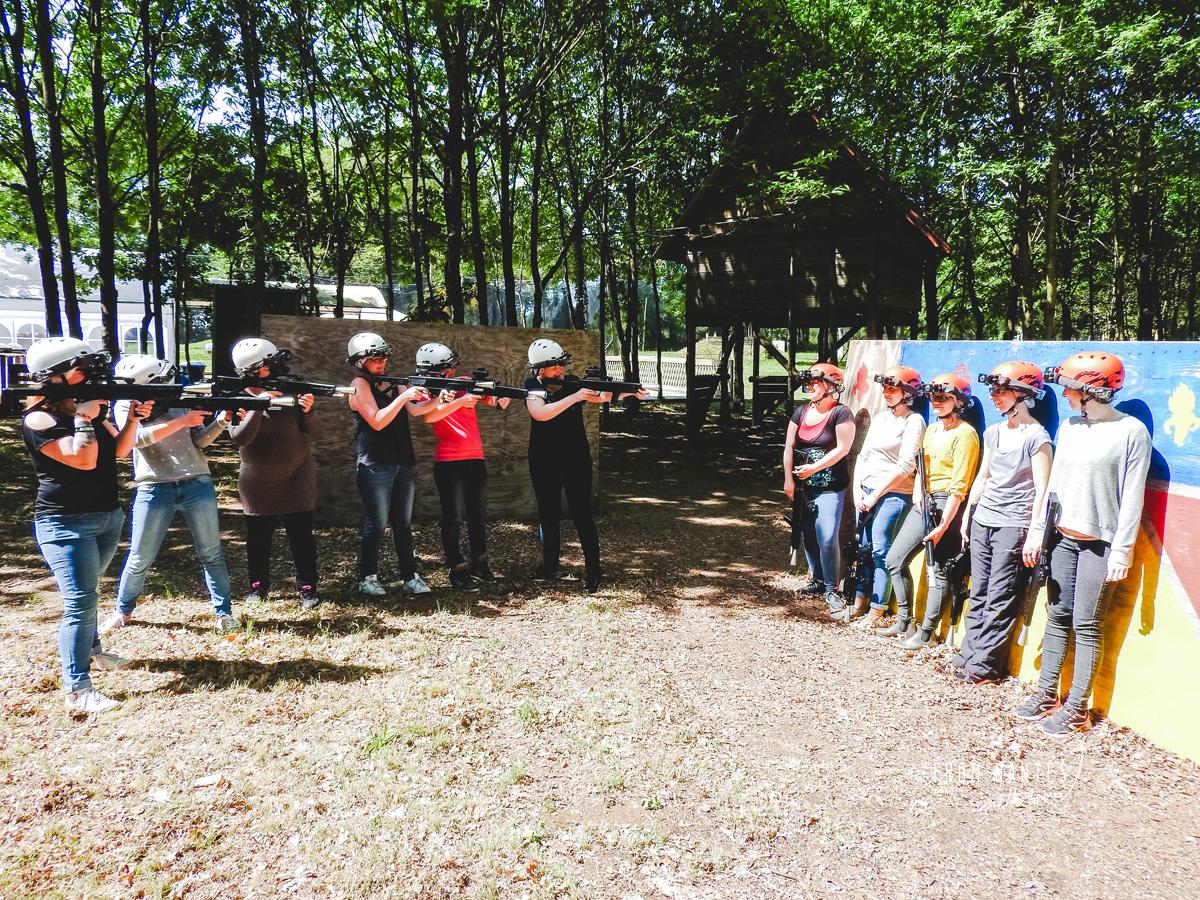 Vallée des Korrigans Laser Tag Accrobranche à Savenay