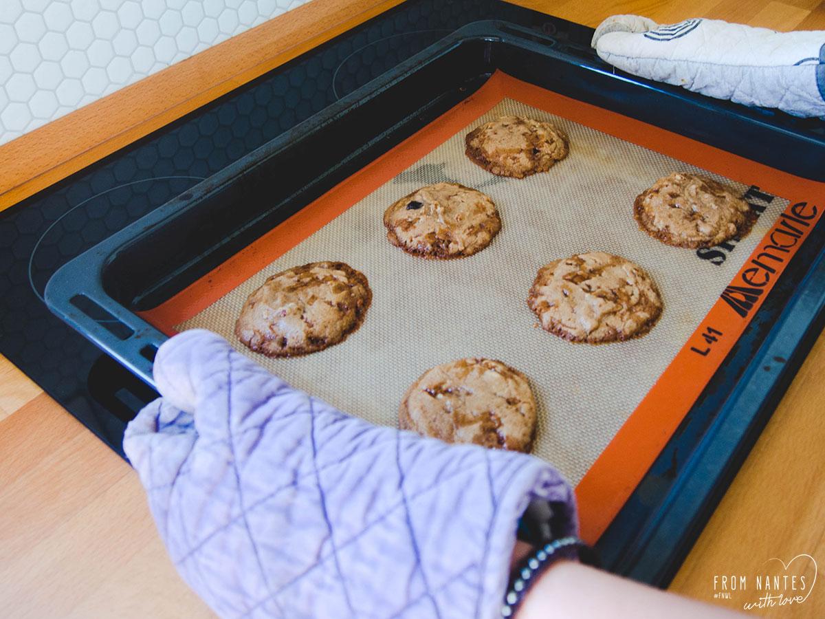 Test de la pate à cookies nantaise Mamm Cookies