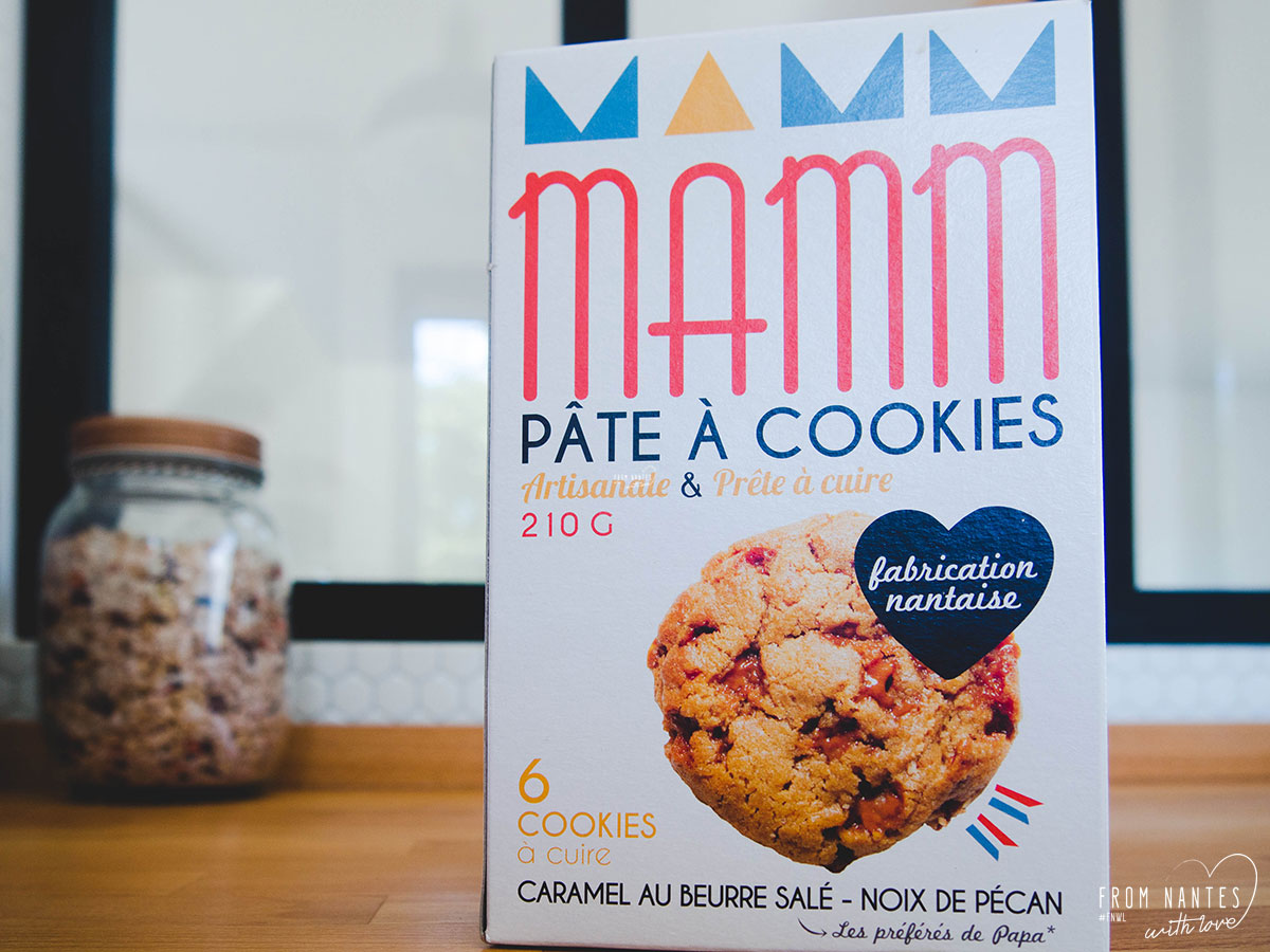 Test de la pate à cookies nantaise Mamm Cookies