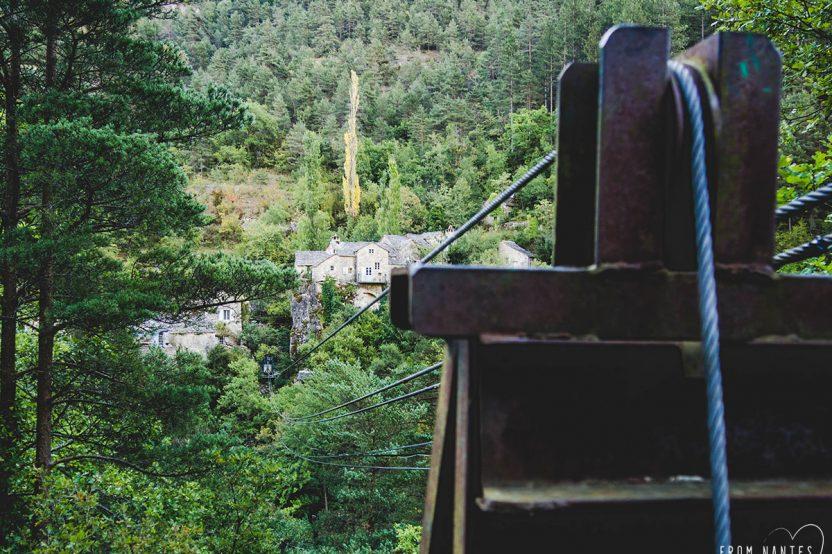 Gorges du Tarn - Tyrolienne de La Sablière