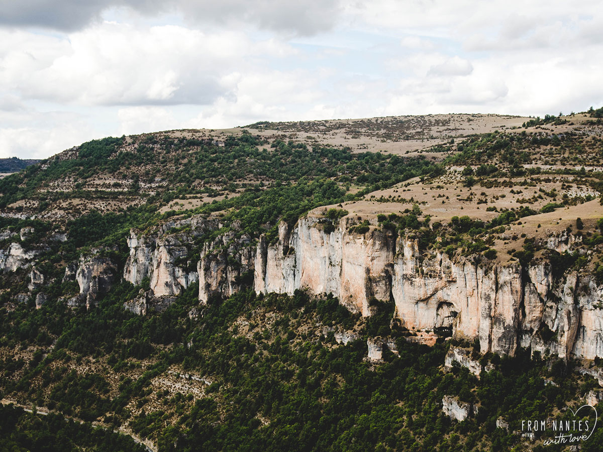Gorges de la Jonte depuis Dargilan