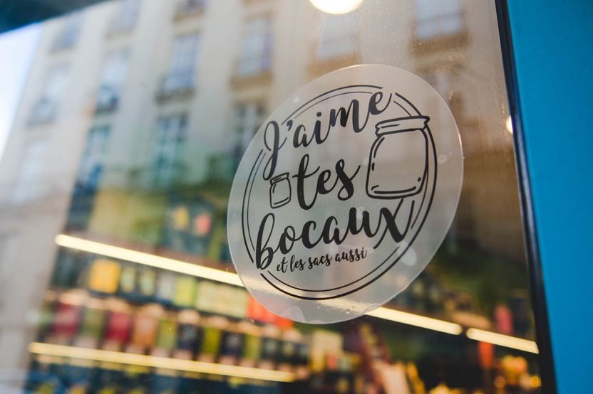 J'aime tes bocaux, la belle initiative des commerçants nantais qui tendent vers le zéro déchet. Feat Le Comptoir Nanthé du Café.