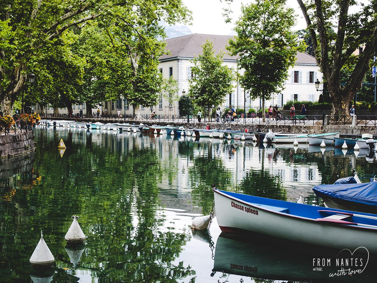 Annecy Haute Savoie été