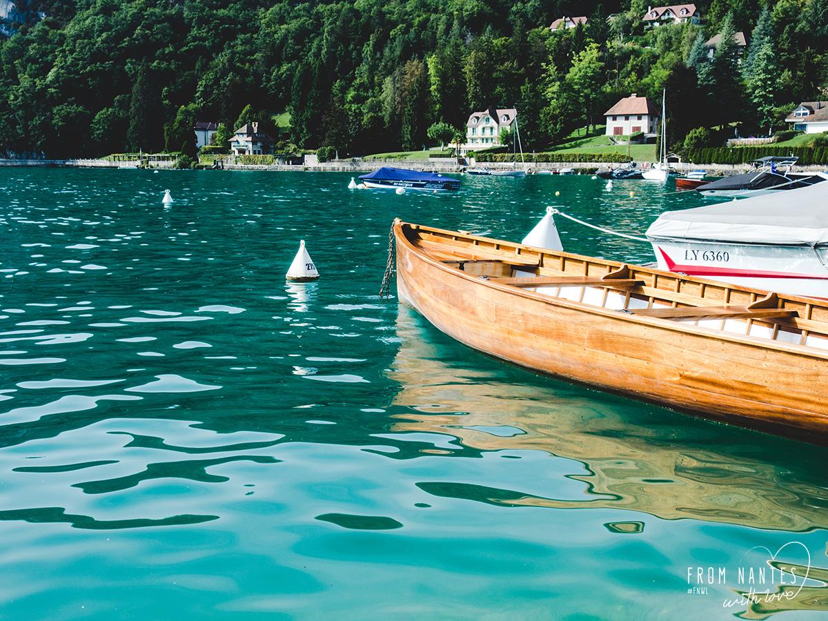 Lac d'Annecy Haute Savoie été