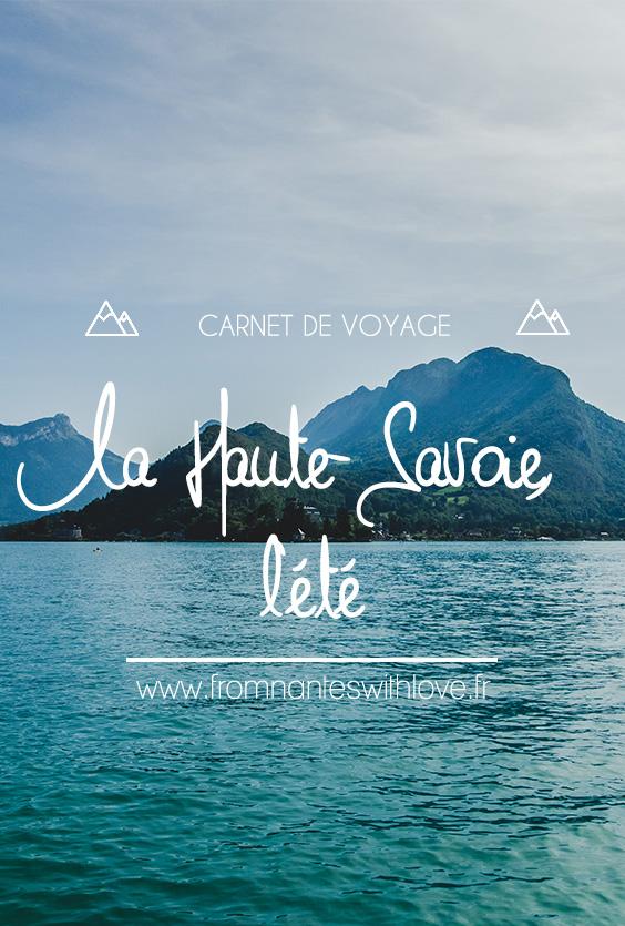 La Haute-Savoie l'été