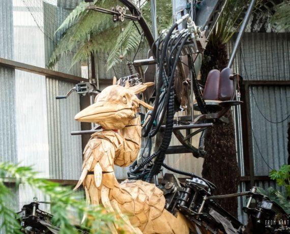 En visite dans la Galerie des Machines de Nantes
