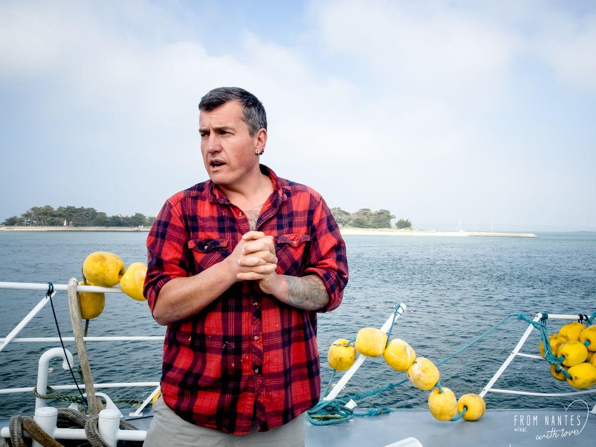 Thierry Evain, marin-pêcheur au Croisic et Patron du chalutier le Quentin-Gregoire