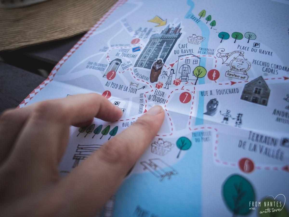 Carte de la Box Un Jour un Village Oudon