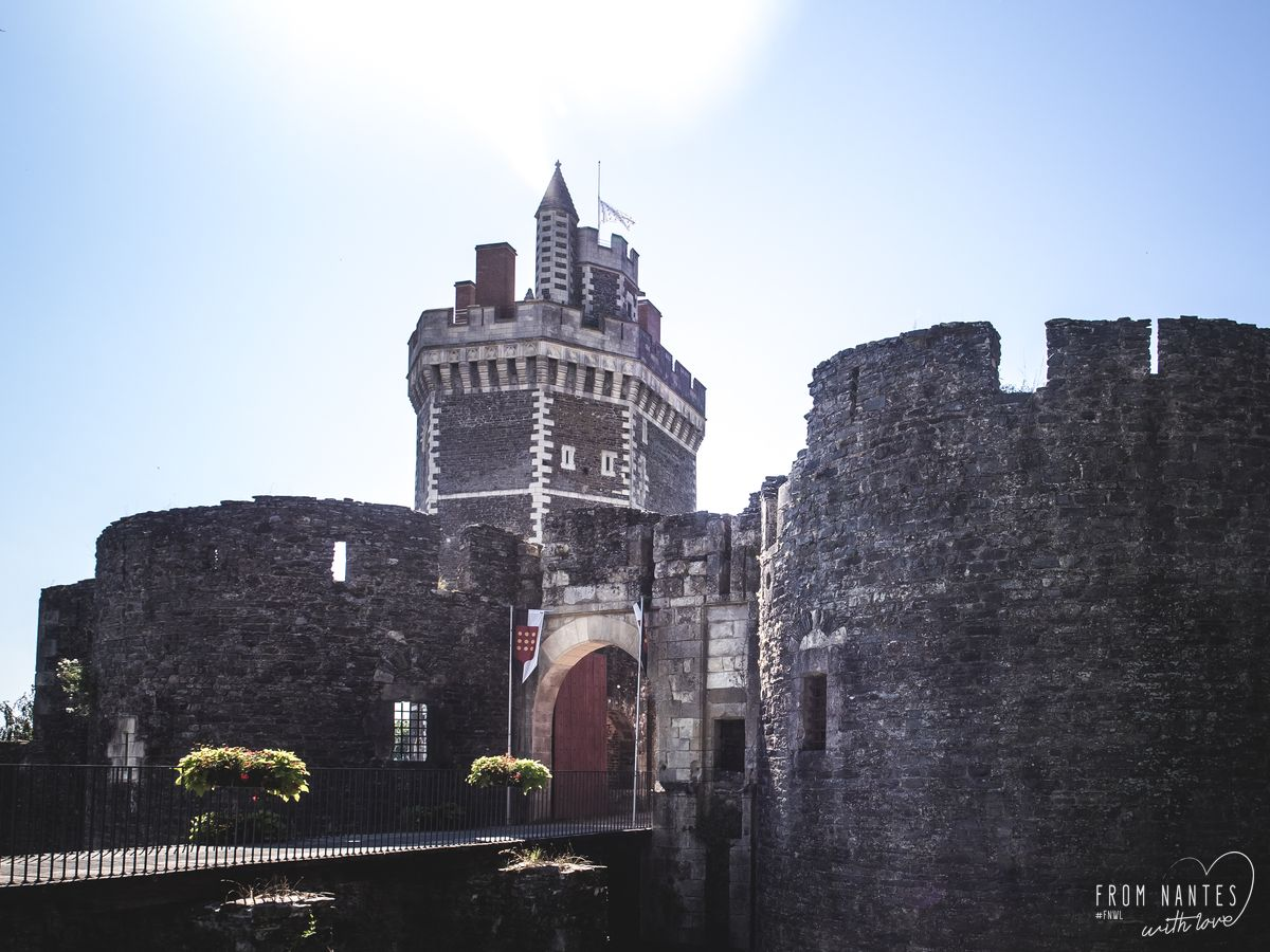 Visite du château de Oudon