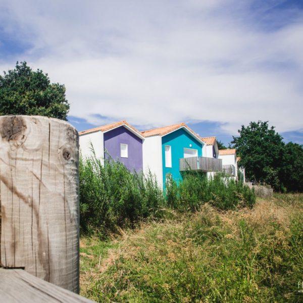 Eco-quartier coloré à la Bernerie
