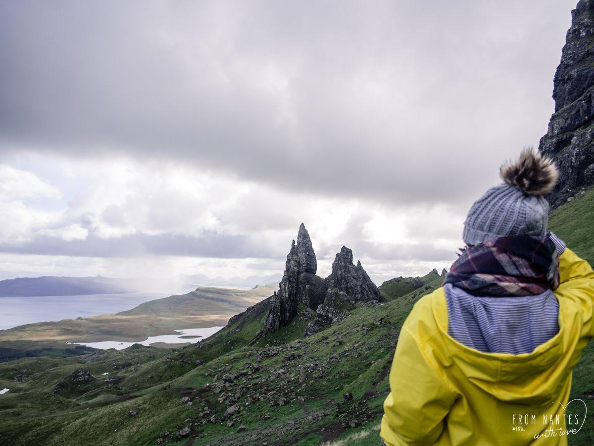 Roadtrip en Ecosse - Old Man of Storr Ile de Skye