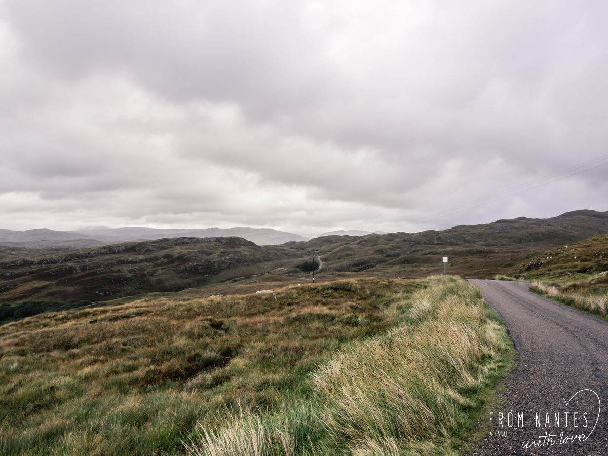 Roadtrip en Ecosse, les routes en Ecosse