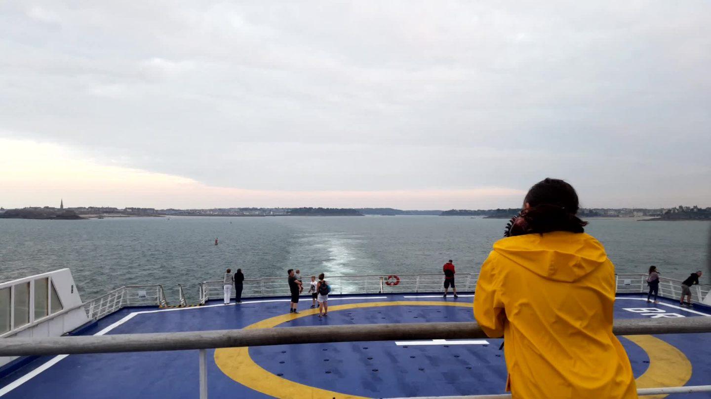 Roadtrip Ecosse - Sur le ferry entre Saint-Malo et Portsmouth
