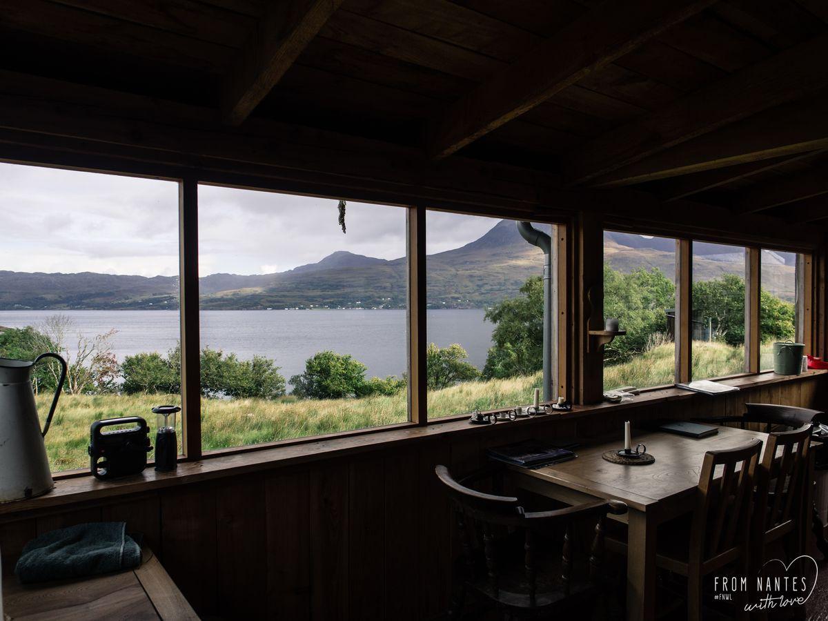 Notre Bothy du Loch Torridon
