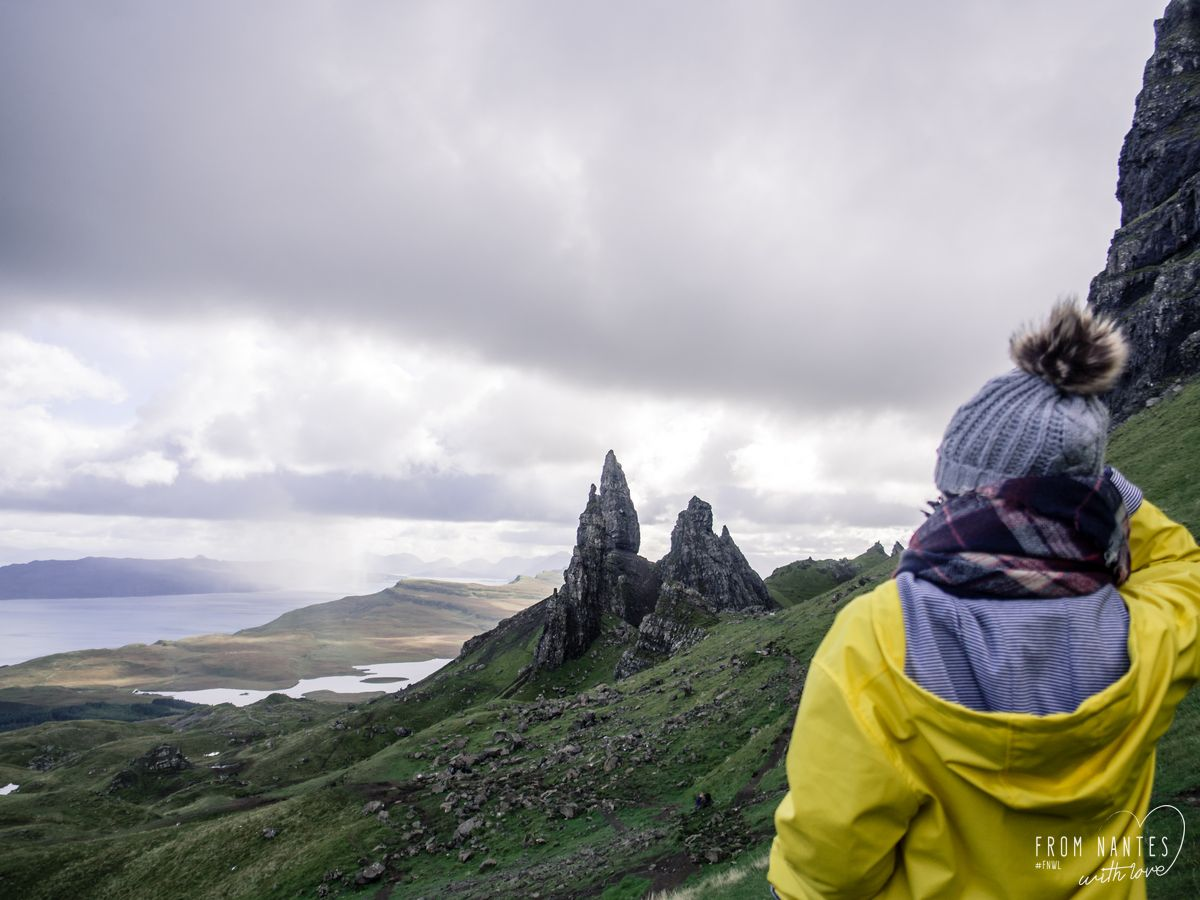 Ascension du Old Man of Storr