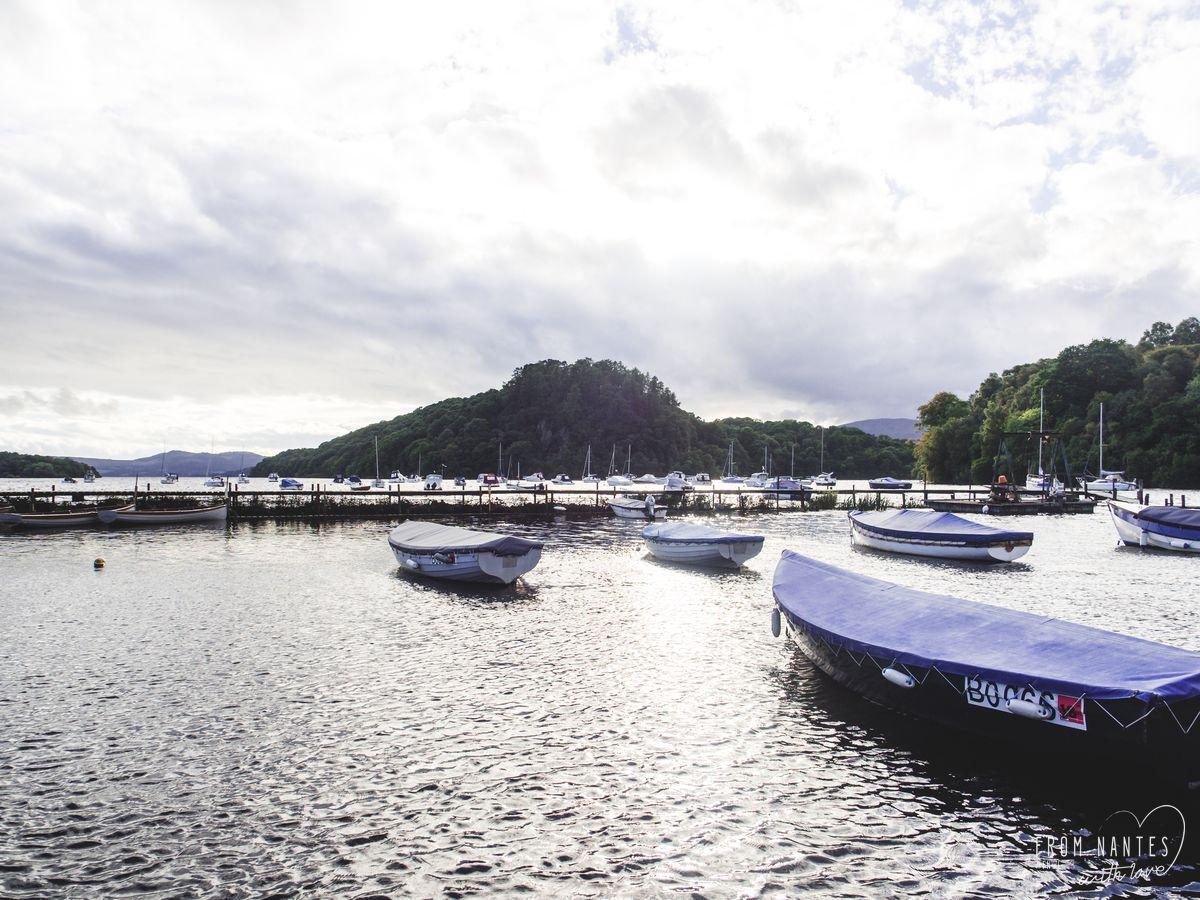 La tranquillité du Loch Lomond