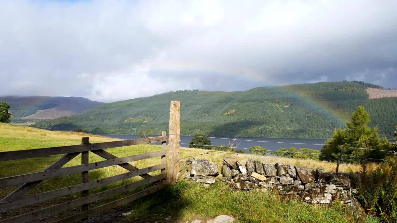 Vue sur le Loch Tay