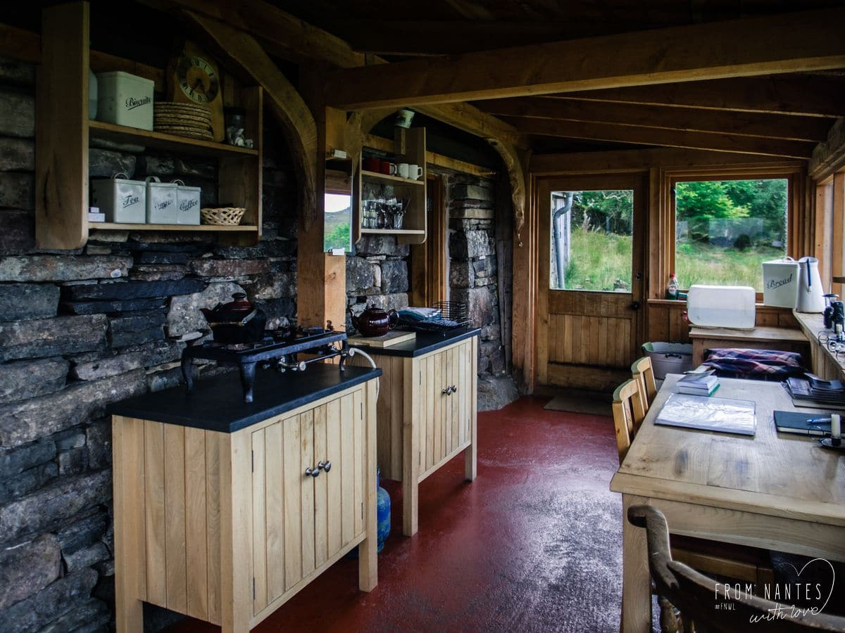 Dormir au milieu de nulle part en Ecosse - Le Bothy de Loch Torridon