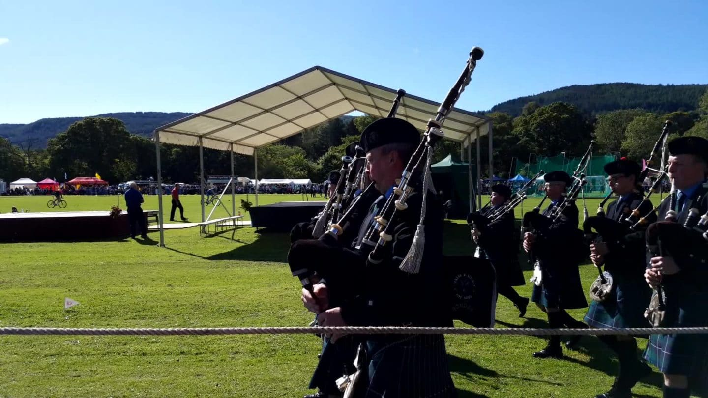 Highlands Games de Pitlochry