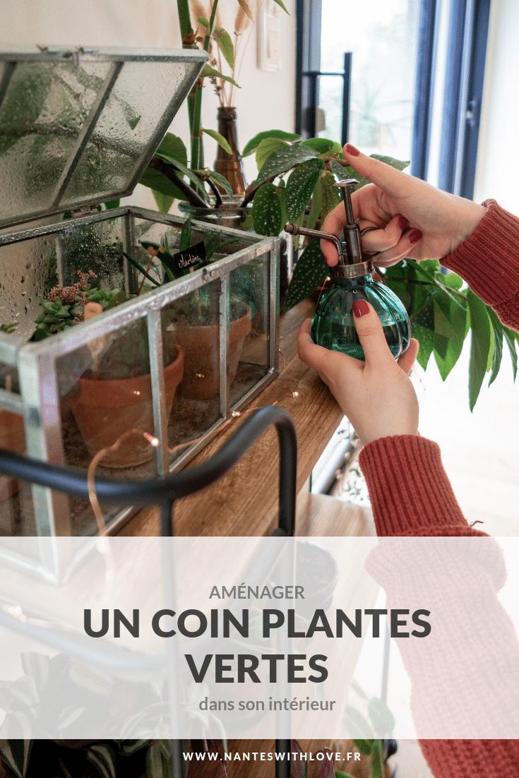 Aménager un coin plantes vertes dans son intérieur