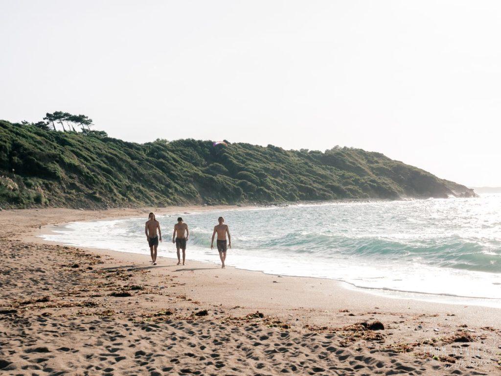 vacances au Pays Basque - Se baigner