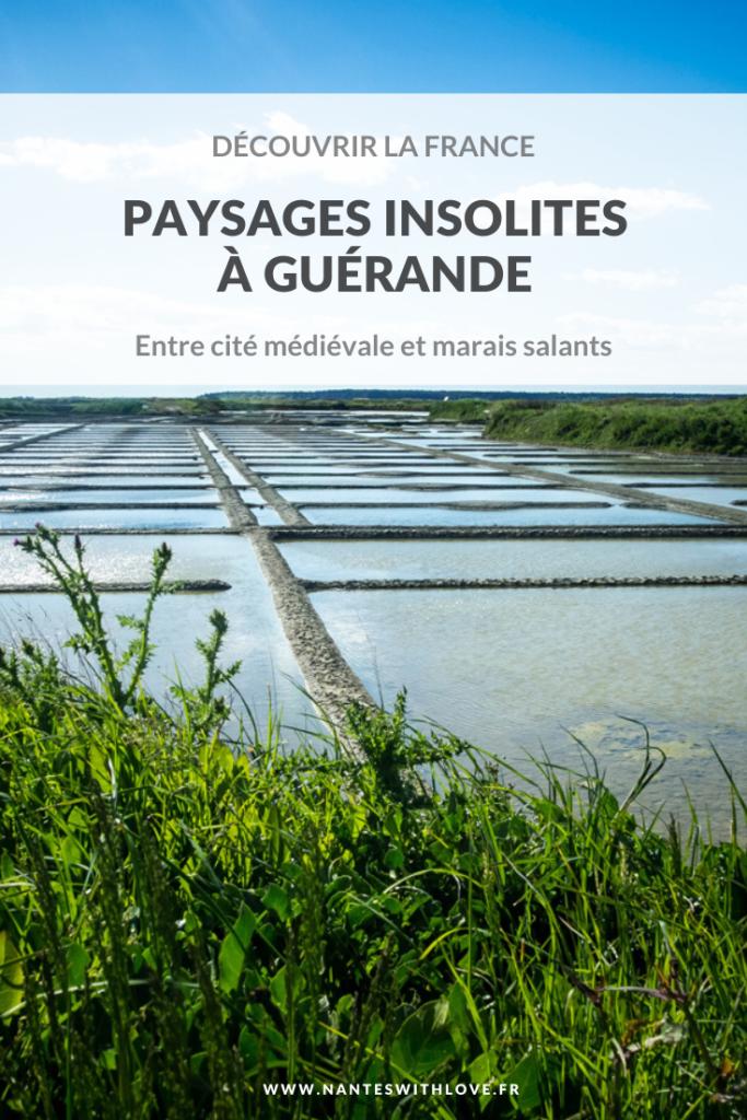 Découvrir la France : les marais salants de Guérande
