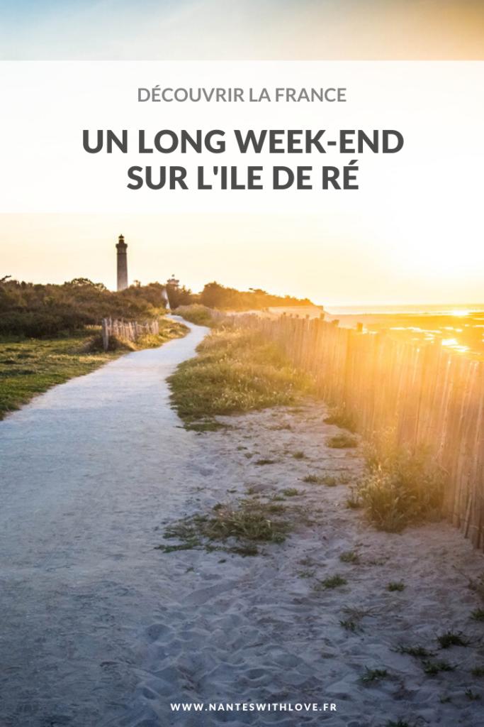 Découvrir la France - un Long week-end sur l'Ile de Ré au printemps